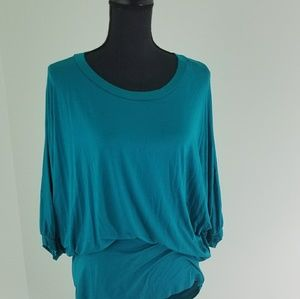 Pastels Top Turquoise